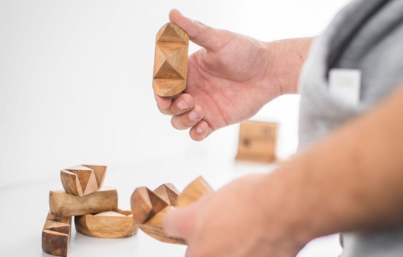 sustainable wooden brain games