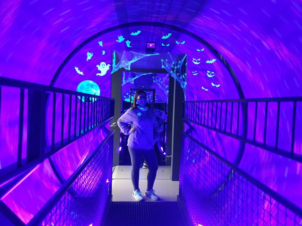 Es ist so gruselig im Vortex Tunnel